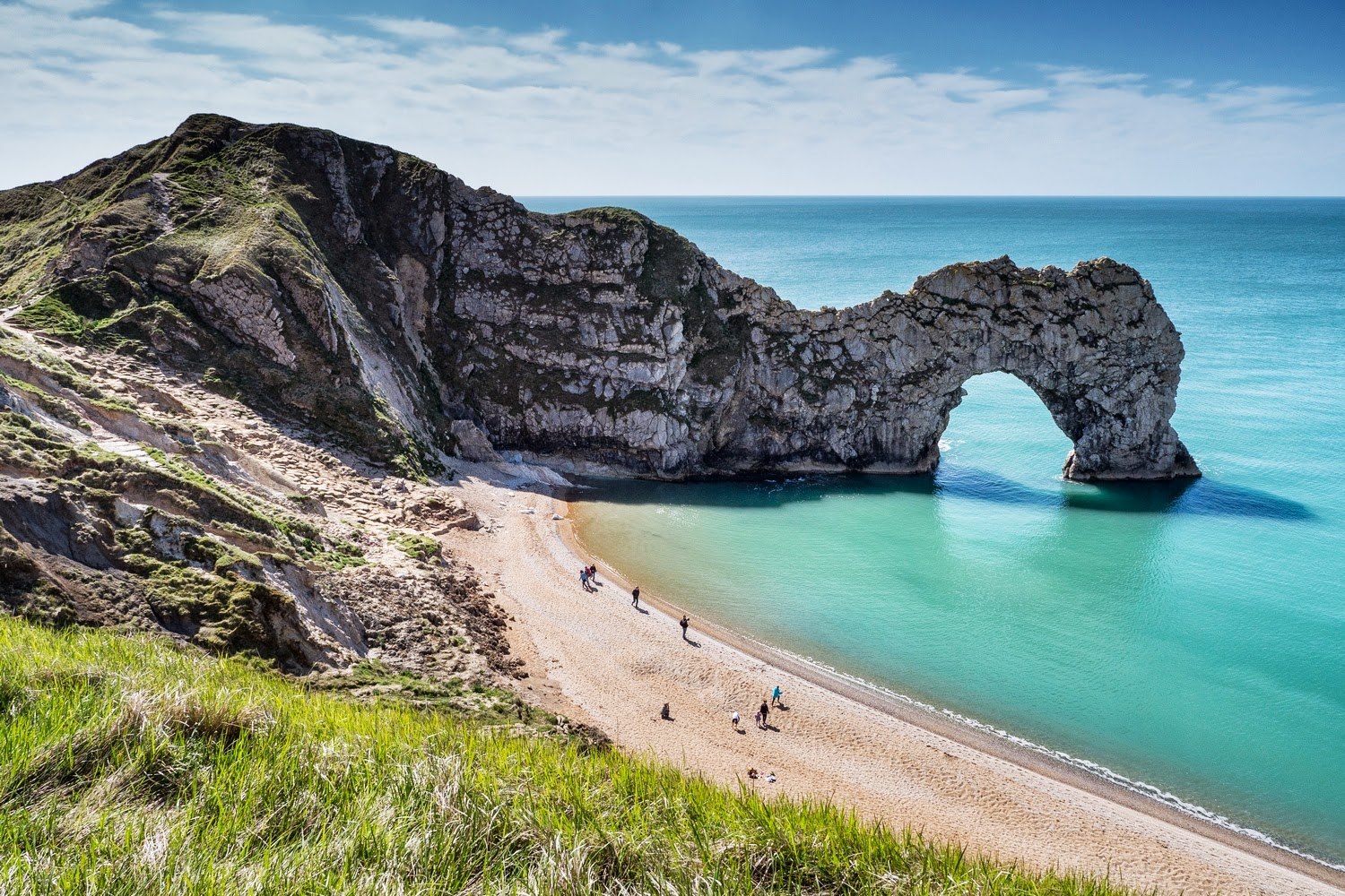 Durdle Door & Welcome! - London to Durdle Door